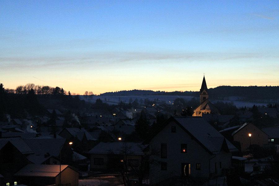 Winter in Lissendorf